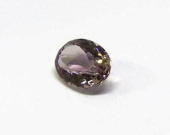 Amethyst Oval Cut top facet Natural purple Gemstone 9.40 carats Semi precious stone