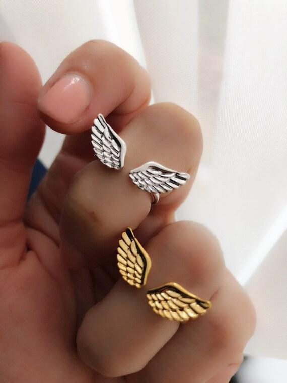 Wings Ring, boho wedding