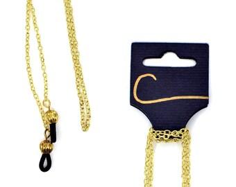 Minimalist Gold Eyeglass Chain