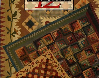 Red Wagon 12th ANNIVERSARY Gerry Kimmel-Carr Quilt Pattern Book
