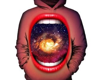 Eating The Galaxy Hoodie | Rave, EDM, Festival Hoodie