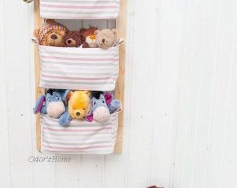 Nursery Storage Baskets   Kids Room Storage Nursery Bins   Diaper Caddy  Wall Organizer   Change