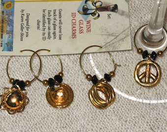 A '60s Thing--Wine Glass Charms