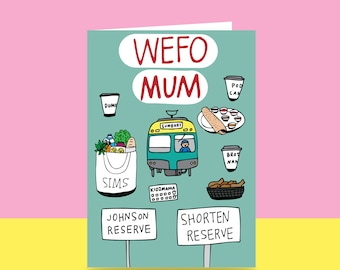 Mother's Day Card - West Footscray Mum | Wefo Mum