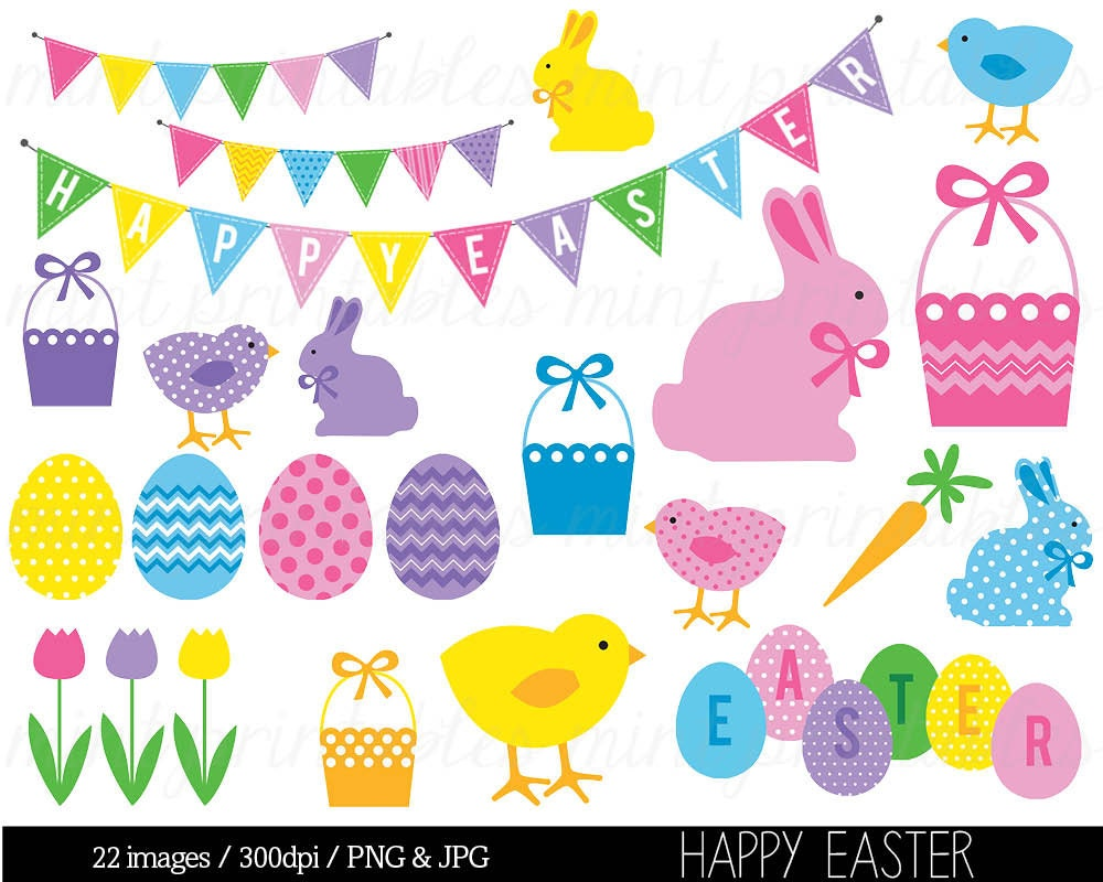personalised word art template - easter clipart clip art happy easter clipart easter bunny