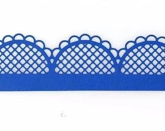 Cut scrapbooking border lace trim