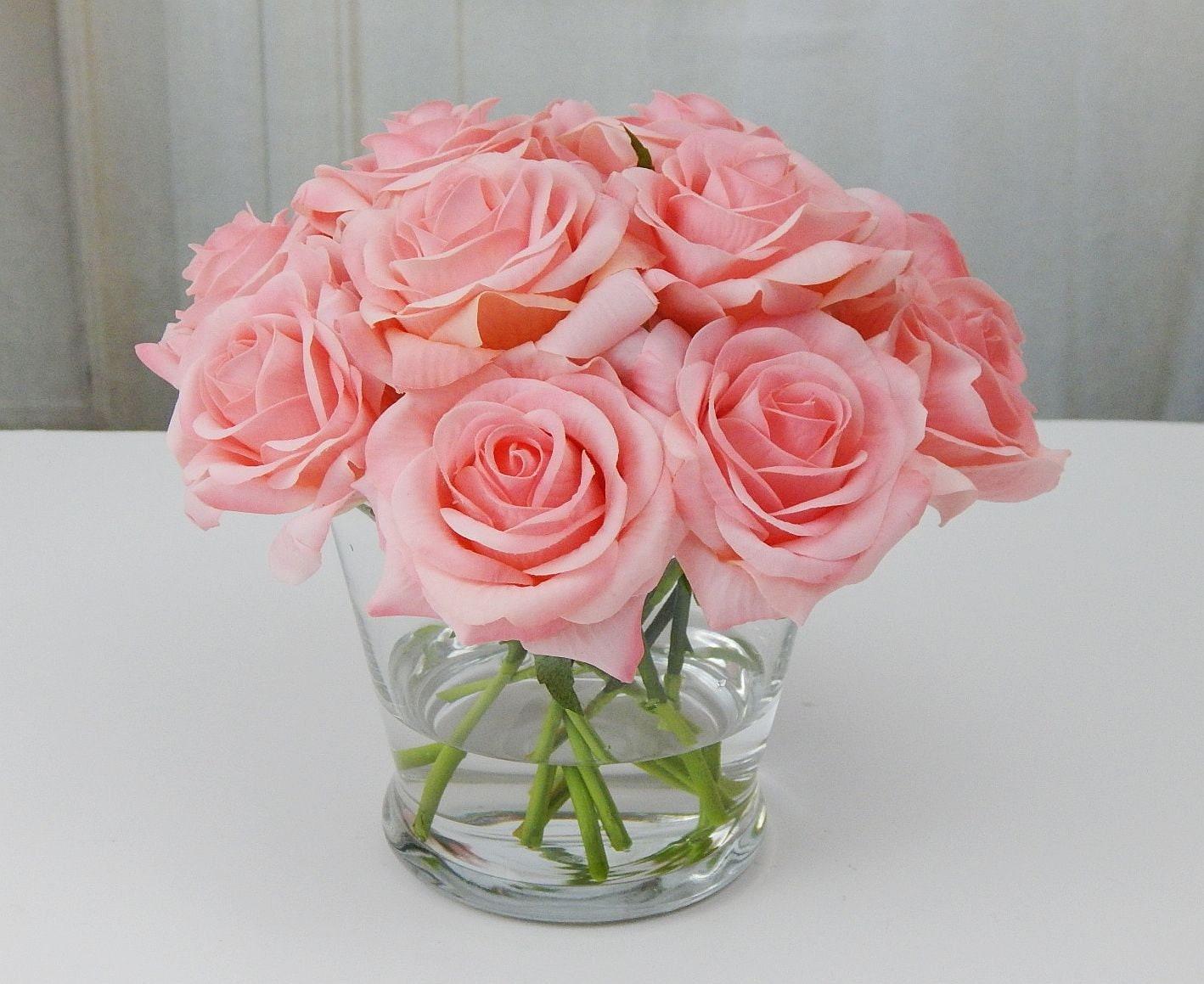 Faux Floral Arrangements for Weddings  Silk Blooms