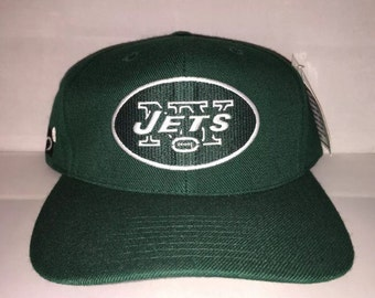 Vintage New York Jets Sports Specialties Snapback hat cap rare 90s nwt NFL football