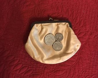 Coin Purse Vintage Silk