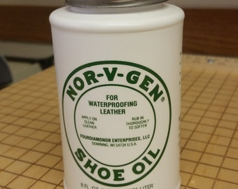 NOR-V-GEN Shoe Oil 8 Oz oil