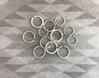 Sterling Silver Nose Ring. Septum ring. nose ring. daith jewelry. cartilage piercing. nipple ring. lip ring. daith ring. sleeper ring.septum
