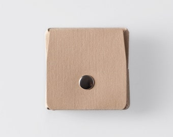 Square Origami Washable Paper Coin Purse in Mojave Sand / Vegan Purse