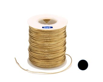 Gold Plated  Copper Round Wire 24 Gau 400 FT / 1/2 Lb SPOOL
