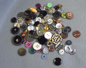 Button Lot Odds and Ends
