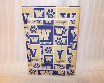 Washington Huskies Fabric Composition Notebook Cover with Notebook Included