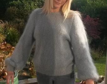 vintage handknitted jumper