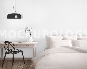 Stock Photography Room Mockup for Wall Coverings, Styled Photography Product Mockup, INSTANT DOWNLOAD
