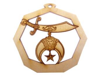 Shriner Ornament - Shriners Gift - Shriners Ornaments - Shriners Gifts - Gift for Shriner - Personalized Free