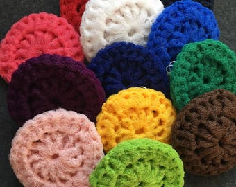 Nylon pot scrubbers-set of 9