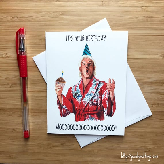 Funny Wrestling Birthday Card Birthday Card For Boyfriend