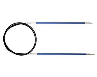 Knitter's Pride Zing Circular Needles size US 6 (4.0mm), metal needle, 16 inch, 24 inch, 32 inch, 40 inch, fixed circular needle, aluminum