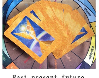 Past, present and future three card reading