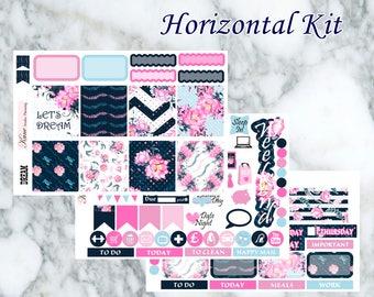 Dream // Weekly Kit - Erin Condren Life Planner Horizontal