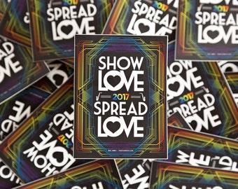 Show Love / Spread Love - GRiZ Sticker