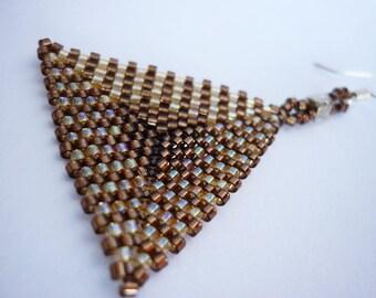 Flat Prism earrings