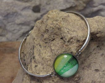 "Fine silver bracelet ""collection nature"""
