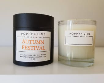 AUTUMN FESTIVAL Boutique Candle