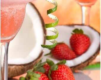 Strawberry Colada - Shea Mango Lip Butter