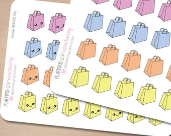 Shopping Bag | Sale Reminder Planner Stickers Perfect for Erin Condren, Kikki K, Filofax and all other Planners