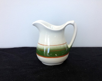 Vintage Wallace China Restaurantware Cream or Syrup Pitcher