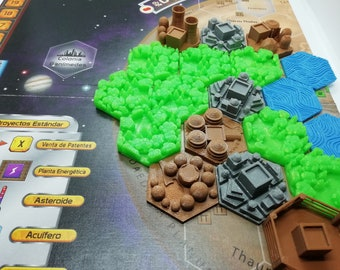 42 Tiles Full Set for Terraforming Mars Board Game