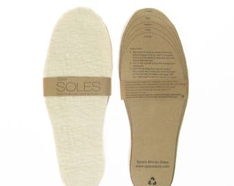 Felt Insoles: Inserts for your shoes, boots, and slippers