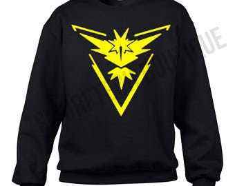 POKEMON GO - Team INSTINCT Crewneck Sweater