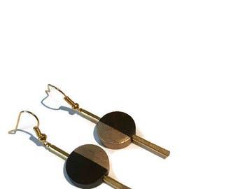 Bar Earrings | Simple Bar Earrings | Dangle Earrings | minimalist