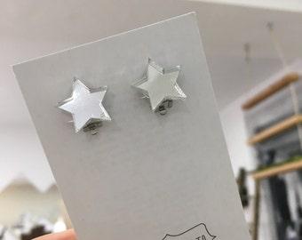Orecchini stella Clip