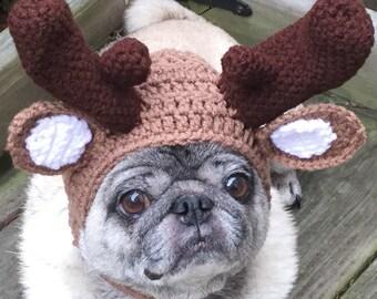 Marty Moose / Dog Hat / Made To Order