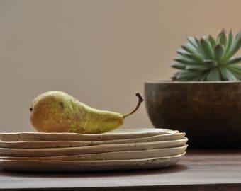 Plate/Cake plate/platter/platter/hand-made