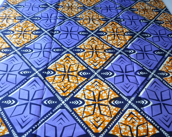 African Fabrics Block Wax Print Fabrics For Sewing, Fabrics For Dress Making Kitenge/Pagnes/Ankara