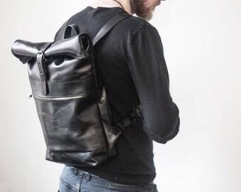 Men leather backpack, travel backpack, womens leather backpack, mens backpack, laptop backpack, leather backpack purse, hipster backpack