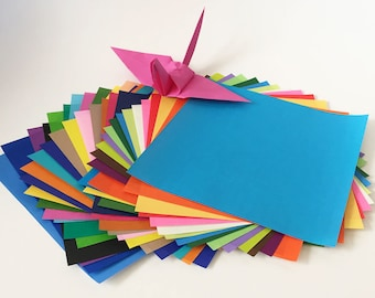 Origami Paper Sheets - Colored Paper Assortment - 120 Sheets