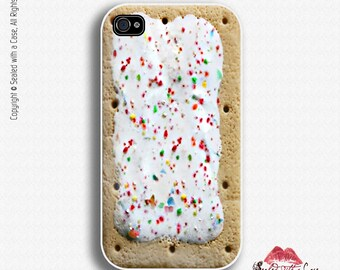 Breakfast Toaster Pastry design - iPhone 4/4S 5/5S/5C/6/6+ and now iPhone 7 cases!! And Samsung Galaxy S3/S4/S5/S6/S7
