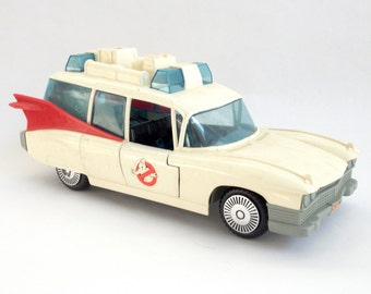 Vintage 80's Real Ghostbusters Ecto 1 Ambulance by Kenner