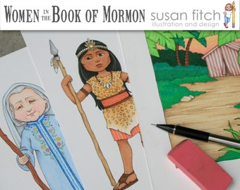 Women of the Book of Mormon digital clip art set