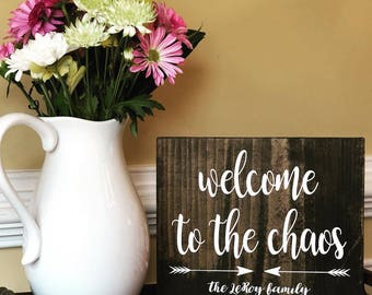 Welcome to the Chaos - Personlized