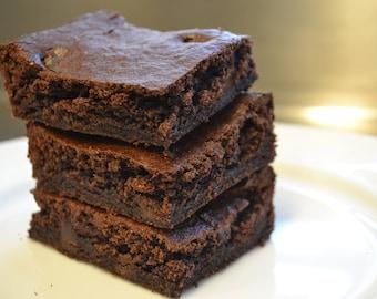 Gluten-free, Dairy-free, Flourless Brownie (12)