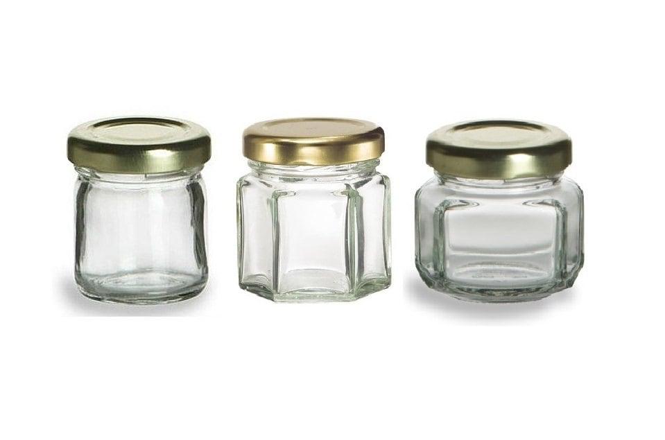 250 15 oz Mini Glass Jars for DIY Wedding jam jelly honey